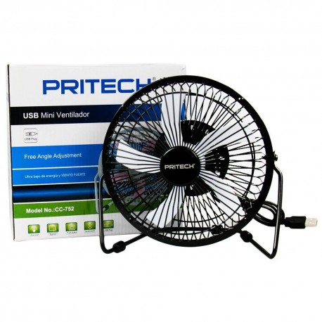 Ventilador USB Portatil PRITECH CC-752