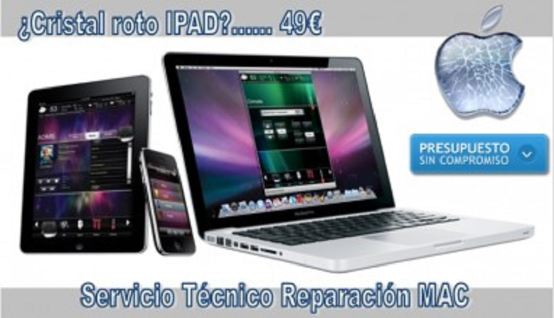 Servicio Técnico Reparación Apple (Mac, Ipad, Iphone)