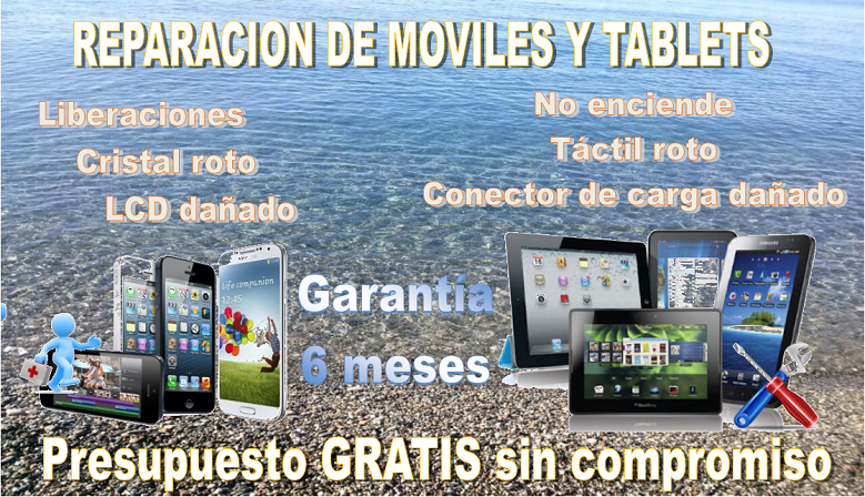 Servicio Reparacion Tablets y Moviles