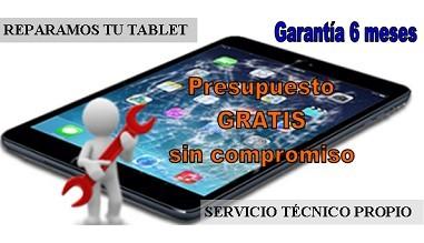 SERVICIO DE REPARACIÓN DE TABLETS